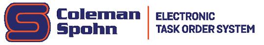Coleman Spohn Electronic Task Order System